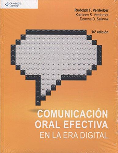 9786075225142: COMUNICACION ORAL EFECTIVA EN LA ERA DIGITAL / 19 ED.