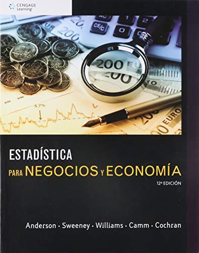 9786075225159: ESTADISTICA PARA NEGOCIOS Y ECONOMIA / 12 ED.