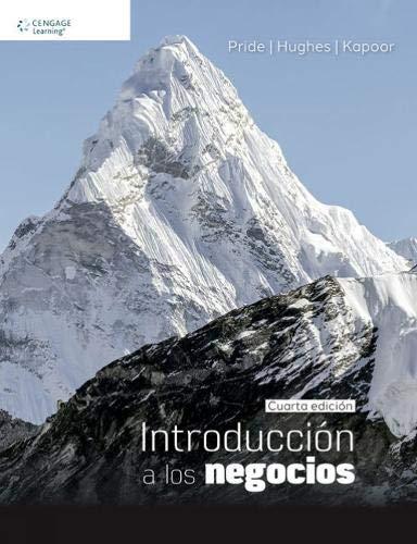 9786075228693: Introducción a los negocios - 4ª edición
