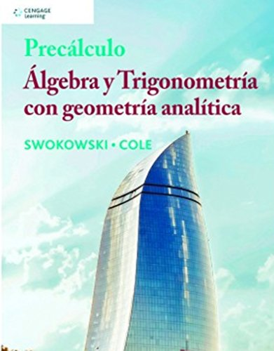 algebra y trigonometria swokowski 9 edicion