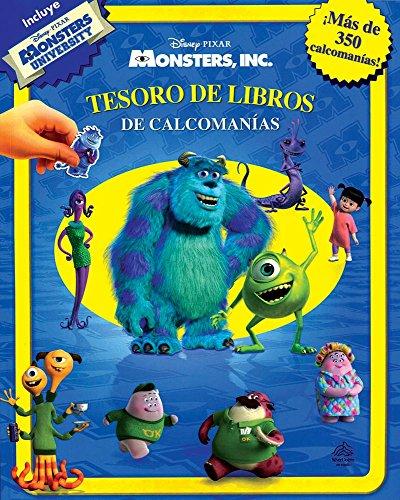 9786076180341: Monsters, Inc: Tesoro De Libros De Calcomanías / Monsters, Inc. Sticker Book (Spanish Edition)