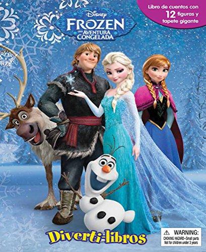 9786076180808: Divertilibros. Disney Frozen Una Aventura Congelada / P