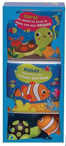 9786076184691: Diversión con Randy el pez payaso & Caro la tortuga/ Fun with Randy the clownfish & Caro the turtle (Mi Cajita Para El Baño) (Spanish Edition)
