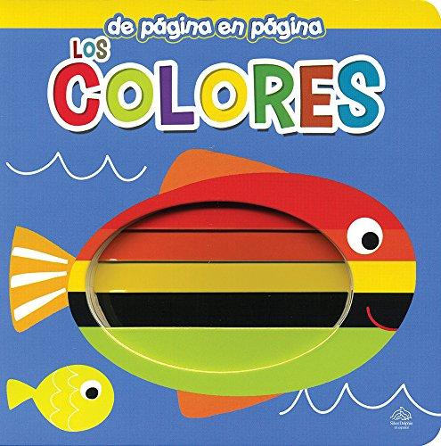 9786076184769: Los Colores./ Colors (De página en página / Page by Page) (Spanish Edition)