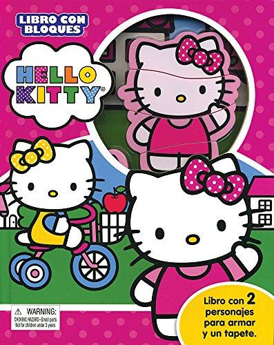 LIBRO CON BLOQUES: HELLO KITTY: POULIN, KIM