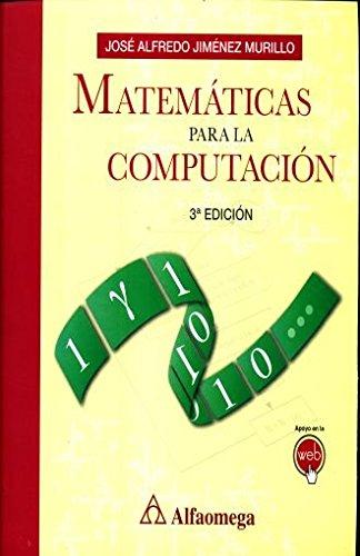 9786076225110: MATEMATICAS PARA LA COMPUTACION / 3 ED.