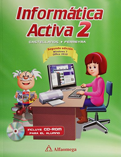 9786077071495: informatica activa 2 c/cd 2a. ed