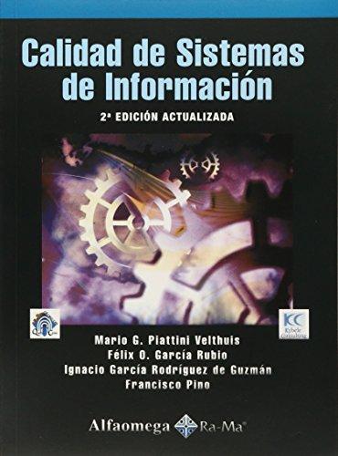 9786077072218: CALIDAD DE SISTEMAS DE INFORMACION (Spanish Edition)