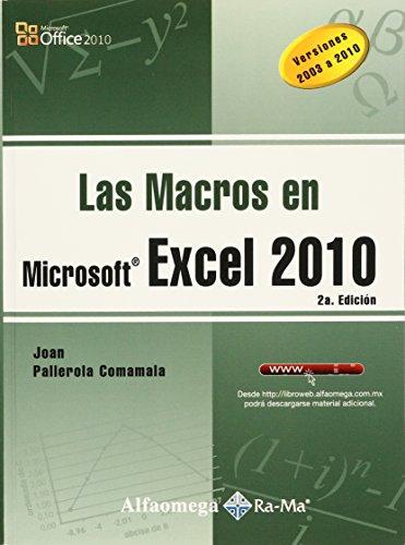 9786077073864: LAS MACROS EN MS EXCEL 2010 Pallerola