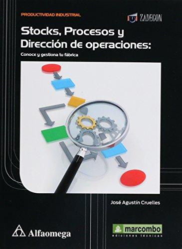 Stocks, Procesos y Dirección de operaciones: Conoce: CRUELLES RUÍZ; José