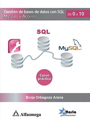 Gestión De Bases De Datos Con SQL,: ORBEGOZO; Borja