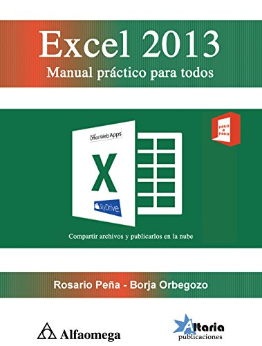 9786077076223: EXCEL 2013. Manual práctico para todos (Spanish Edition)