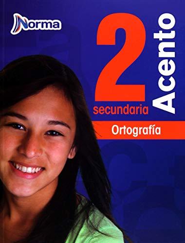 9786077220435: ACENTO 2 ORTOGRAFIA SECUNDARIA (2013)