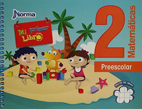 9786077220718: Matematicas 2 Norma Preescolar 2012 (Libro De Actividades). Mexico