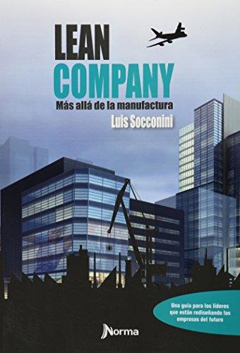 9786077221807: LEAN COMPANY MAS ALLÁ DE LA MANUFACTURA
