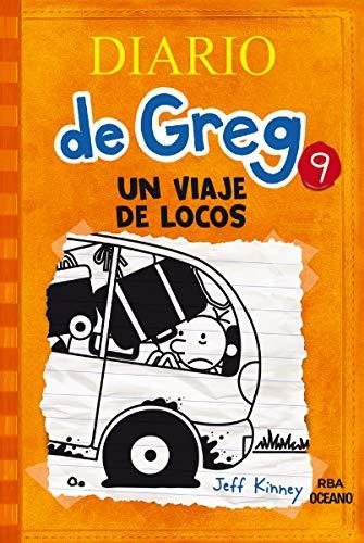 9786077356677: DIARIO DE GREG 9. UN VIAJE DE LOCOS (RUSTICA)