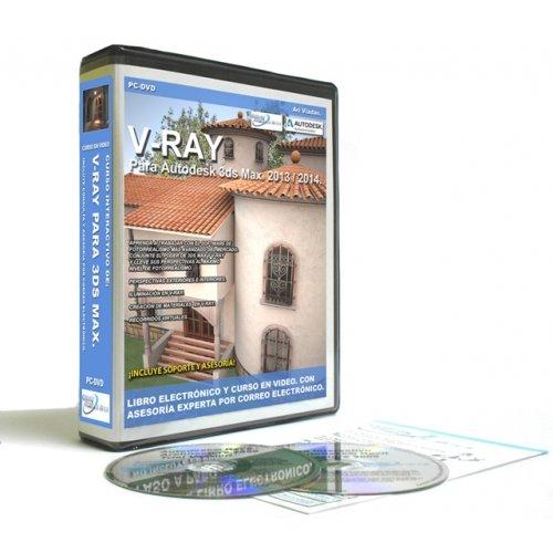 9786077508908: Curso en Video de V-Ray para 3ds Max 2014 (Spanish Edition)