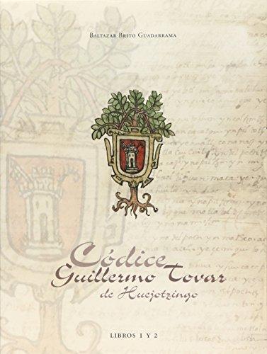 CÓDICE GUILLERMO TOVAR DE HUEJOTZINGO: Baltazar Brito Guadarrama