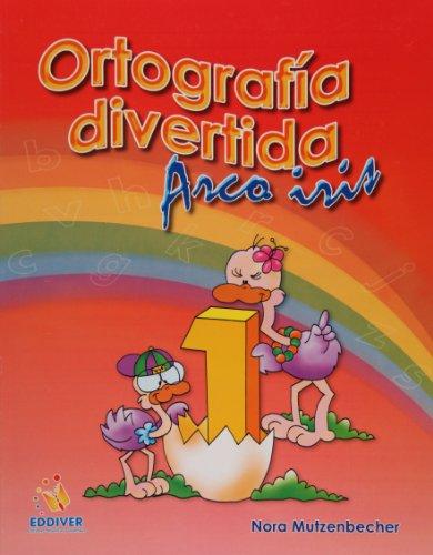 9786077688006: Ortografia divertida 1. Arco iris (Spanish Edition)