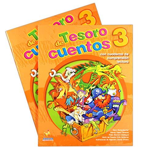 9786077688266: TESORO DE CUENTOS 3/COMPRENSION LECTORA