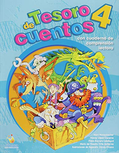 9786077688273: Tesoro De Cuentos 4 + Cuaderno De Comprension Lectora. Primari