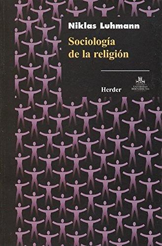 9786077727040: SOCIOLOGIA DE LA RELIGION. (HERDER)