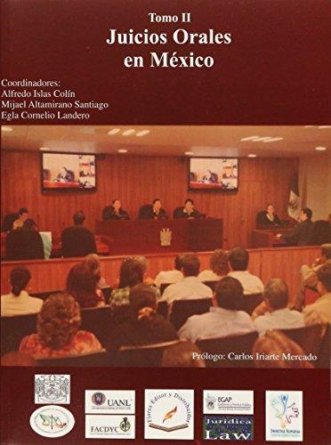 9786077799986: juicios orales en mexico / tomo i