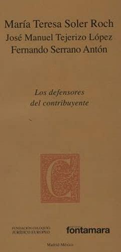 LOS DEFENSORES DEL CONTRIBUYENTE: María Teresa Soler
