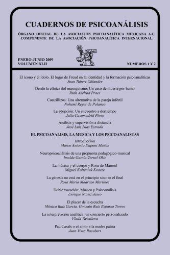 9786079137052: CUADERNOS DE PSICOANÁLISIS, Volumen XLII, nums. 1-2, enero-junio de 2009
