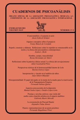 CUADERNOS DE PSICOANÁLISIS, Organo Oficial de la: Julia Casamadrid Pérez;