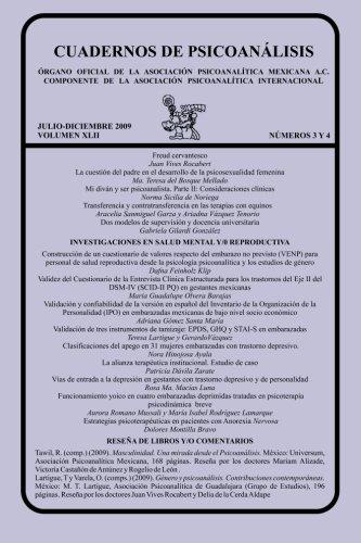 CUADERNOS DE PSICOANÁLISIS, JULIO-DICIEMBRE 2009 vol XLII,: Teresa Lartigue Becerra;