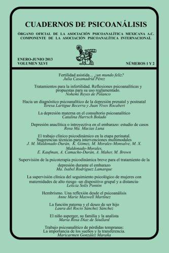 CUADERNOS DE PSICOANÁLISIS, ENERO-JUNIO 2013 VOL XLVI,: Julia Casamadrid Pérez;