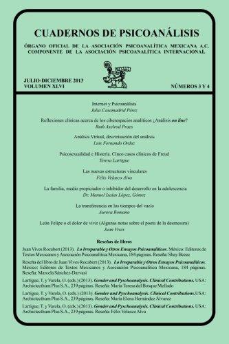 Cuadernos de Psicoanalisis, Julio Diciembre 2013 Vol: Julia Casamadrid Perez,