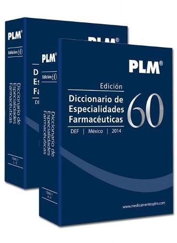 9786079259563: Diccionario de Especialidades Farmaceuticas 2014 Edicion 60 [ PDR - Physician's Desk Reference in Spanish ] - in two Volumes (Spanish Edition)