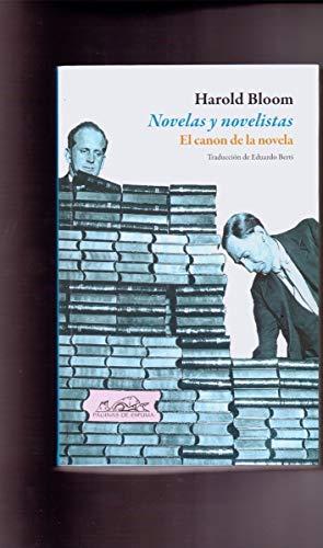 9786079278045: novelas y novelistas. el canon de la nov