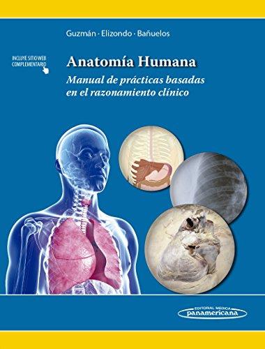 9786079356569: Anatomía humana / Human Anatomy: Manual de prácticas basadas en el razonamiento clínico / Practices Manual Based on Clinical Reasoning (Spanish Edition)