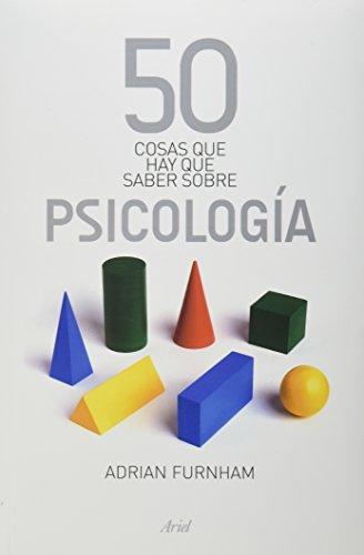 9786079377014: 50 cosas que hay que saber sobre psicologia (Spanish Edition)