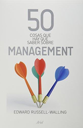 9786079377625: 50 cosas que hay que saber sobre management (Spanish Edition)