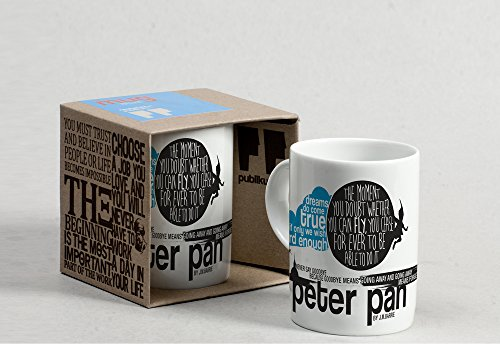 Peter Pan Mug: (Porcelain Mug) (Fairytales): PublikumArt
