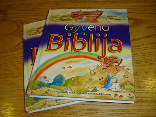 9786098073317: Lithuanian Children's Bible - Gyvenu su Biblija / My First Communion Bible - for all ages with Colorful Illustrations