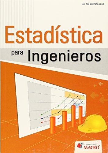 9786124034558: ESTADISTICA PARA INGENIEROS