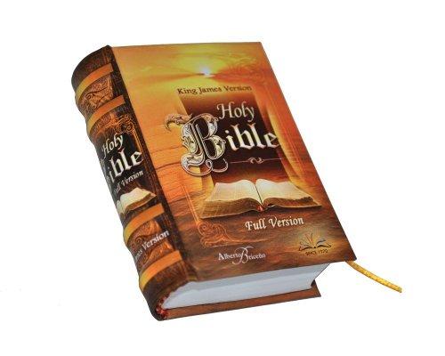 9786124076114: New Miniature Book Holy Bible Full Version King James Hardbound Ribbon