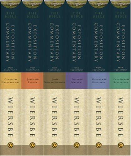 The Bible Exposition Commentary, 6 Volumes: Wiersbe, Warren W.