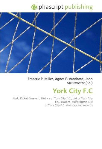 York City F.C: Frederic P. Miller