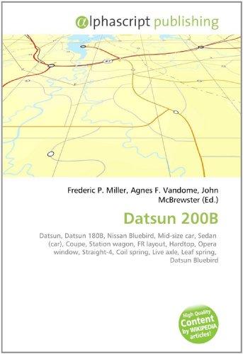 9786130054397: Datsun 200B