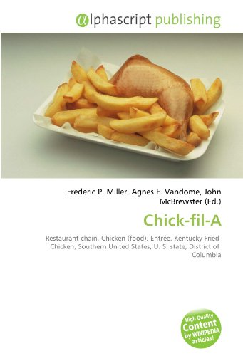 9786130066529 Chick Fil A Restaurant Chain Chicken Food Entre