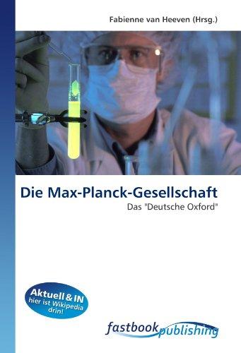 Die Max-Planck-Gesellschaft: Fabienne van Heeven