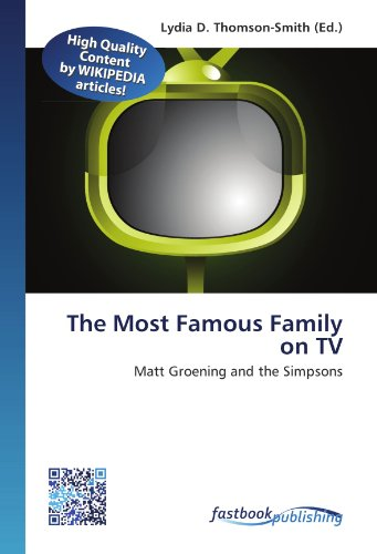 The Most Famous Family on TV: Matt Groening and the Simpsons (Paperback)