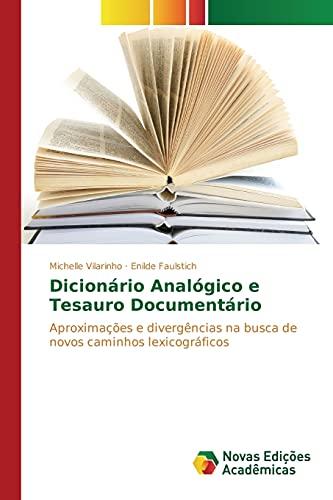 Dicionario Analogico E Tesauro Documentario: Vilarinho Michelle