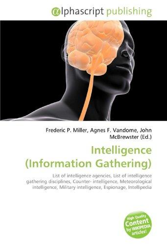 9786130200428: Intelligence (Information Gathering)
